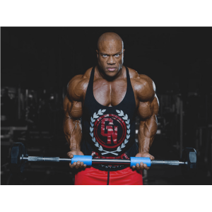5x Mr. O Phil Heath using Fat Gripz