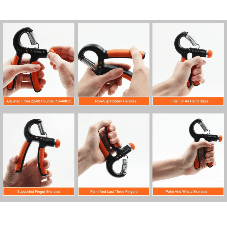 Instructions - How to use Kootek adjustable gripper