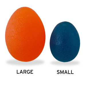 Large VS Small - The Friendly Swede hand exercise balls