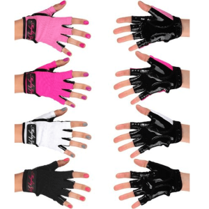 Mighty Grip Pole Dancing Gloves with Tack Strips