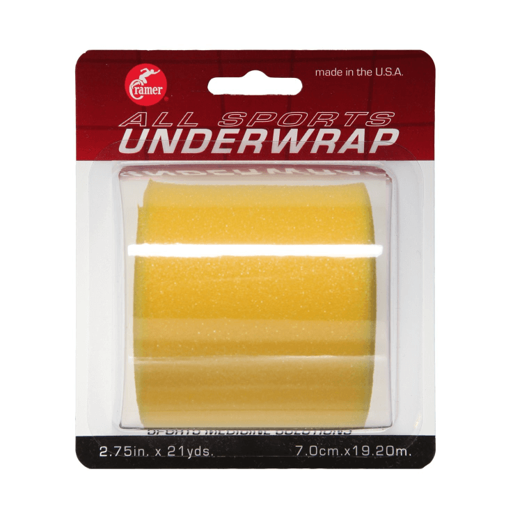 """Tape Underwrap - 2.75"""" X 21"""" Yard (Assorted Colors) Yellow"""