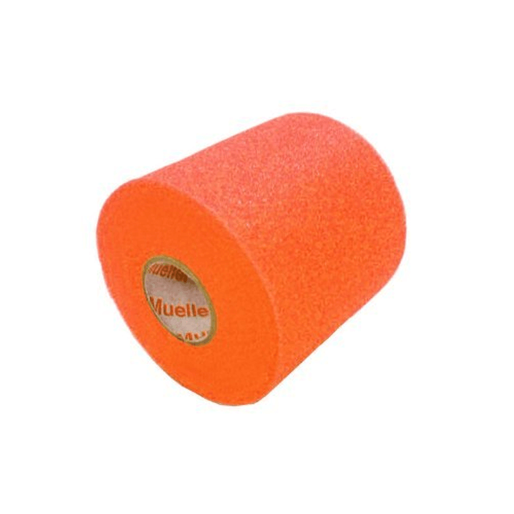 "Orange - M-Wrap Pre Wrap - 2.75"" x 30 Yard, by Mueller"