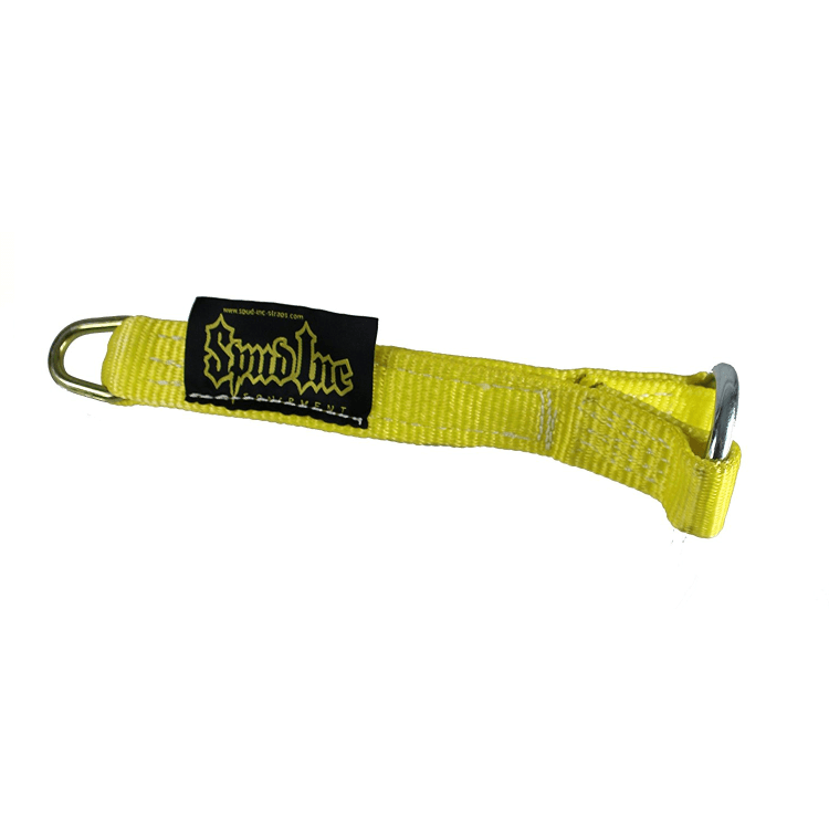 Olympic Strap Loading Pin, by Spud (Yellow)