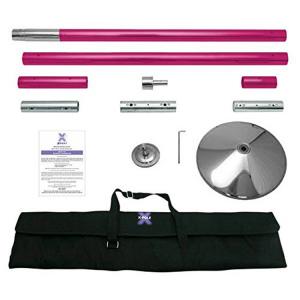 X-Pole 45mm Pink Powder Coated X-Pert Full Kit