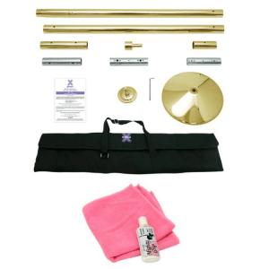X-Pole 45mm Titanium Gold X-Pert (Spin/Static)
