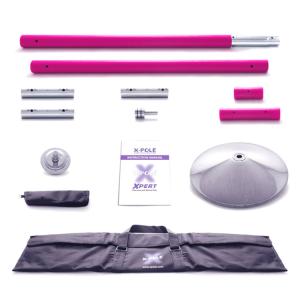 X-Pole 48mm Pink Silicone X-Pert Dance, NX Model