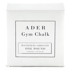 Ader Gym Chalk - Magnesium Carbonate - 1lb