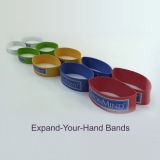 Expand-Your-Hand bands full set, by IronMind