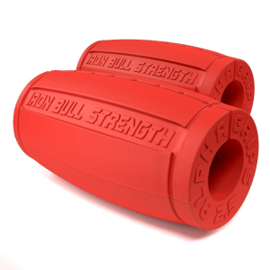 Alpha Grips version 2.5, red - Thick bar adaptors