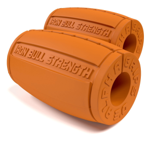 Alpha Grips version 3.0, orange - Thick bar adaptors