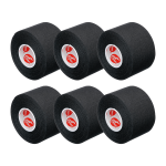 Cramer Athletic tape, Black, 6x scrolls