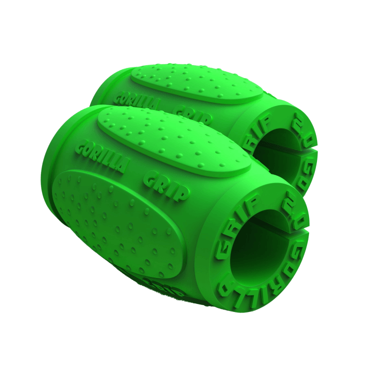 Gorilla Grips Version 2.0, green - Thick bar adaptors