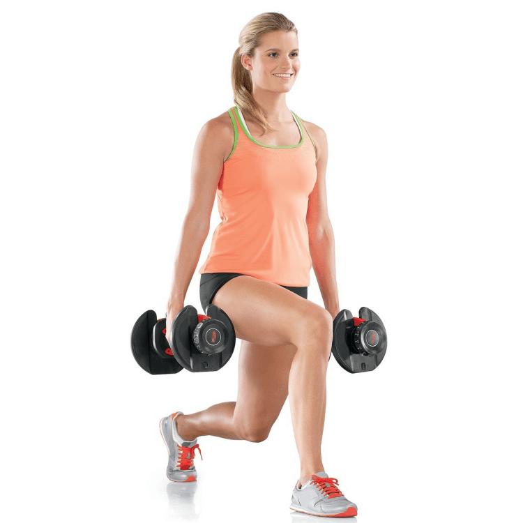 Bowflex Adjustable Dumbbells Exercises: SelectTech 552 Adjustable Dumbbells, By
