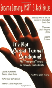 It's Not Carpal Tunnel Syndrome - RSI Theory and Therapy for Computer Professionals, book cover