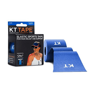 KT Tape Original Cotton, 16 feet uncut, blue