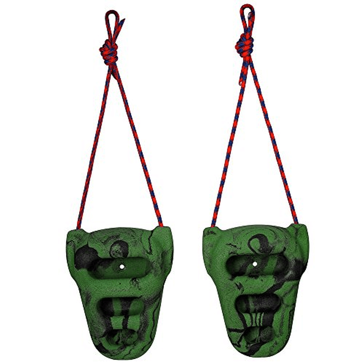 Metolious Rock Rings, Black and Green