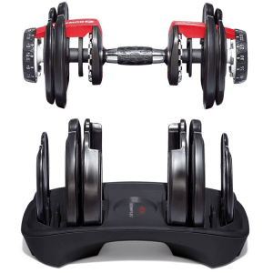 SelectTech 552 Adjustable Dumbbells & Stand, by BowFlex