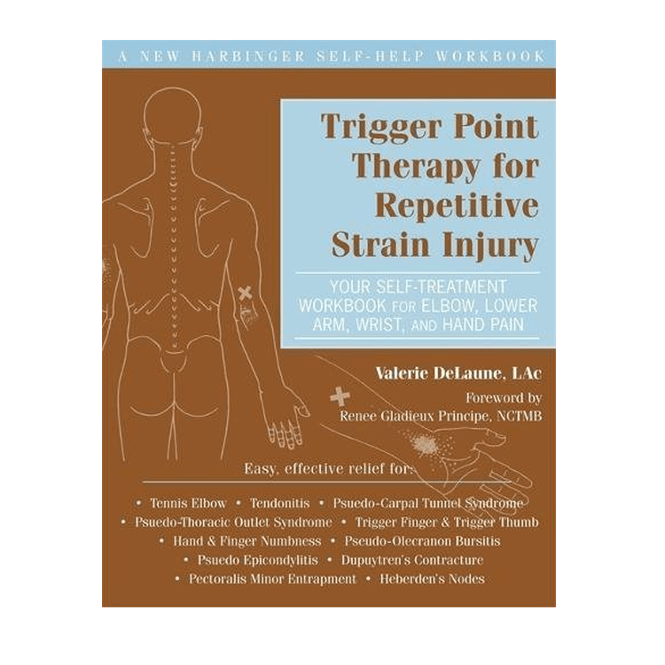 Trigger Point Therapy for Repetitive Strain Injury cover