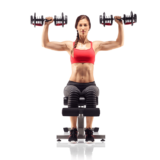 Bowflex SelecTech 552 Adjustable Dumbbells – Shoulder press