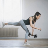 Exercise with ATIVAFIT dumbbells