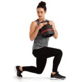 Lunges with BowFlex Selectech Adjustable Kettlebell