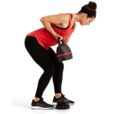 Rows with BowFlex Selectech Adjustable Kettlebell