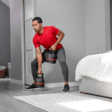 Rows with BowFlex Selectech Adjustable Kettlebells