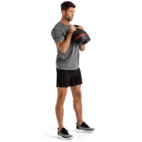 Training forearms with BowFlex Selectech Adjustable Kettlebell