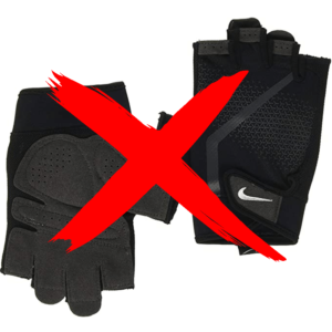 Exercise with hand grippers and avoid using fitness gloves