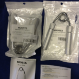 Kootek 50-150 lbs adjustable hand grip with user manual and warranty card